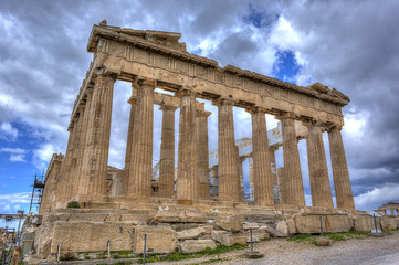 Wall Mural - Parthenon temple on the Athenian Acropolis, Greece