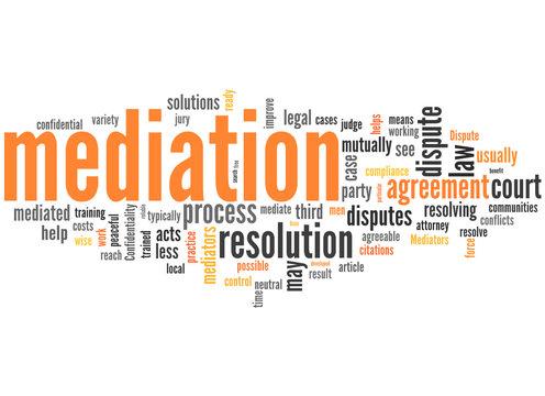 Mediation (mediator, moderation, negotication)