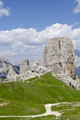 Peaks of five towers (Dolomites)