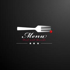 modern cover menu design