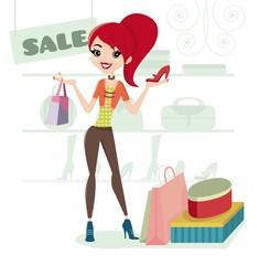 Saldi! Andiamo a fare shopping!