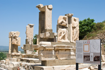 Ephesus ancient greek ruins, Izmir, Turkey