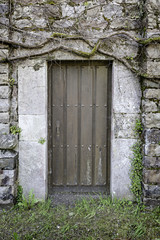 Old rural door