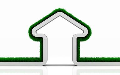 eco grass house