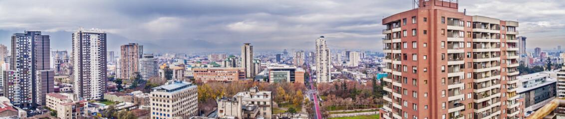 Santiago de Chile panorama