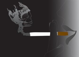 Of smoking dangers