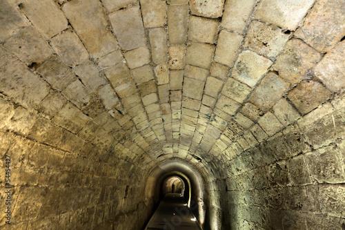 Wall mural Templar Tunnel in Acco