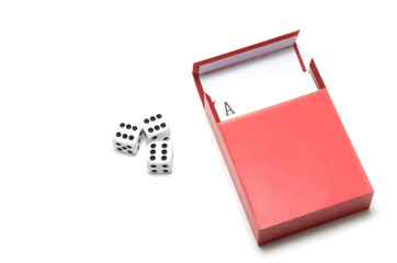 Cards and dices