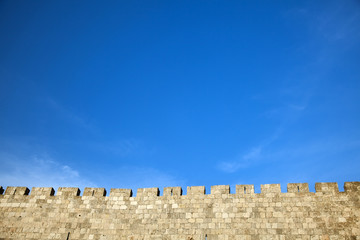 Wall Mural - Old Jerusalem City Wall