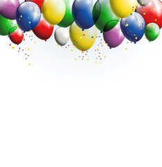 balloons background for you design