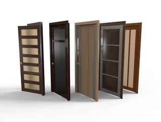 Different interior doors