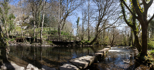 The Dingle Nature Reserve in Llangefni
