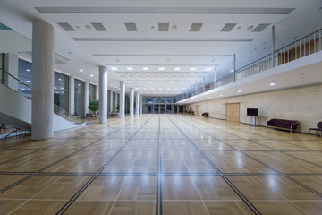 Parquet lobby at Palace