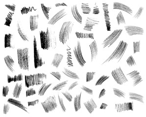hand drawn shapes collection