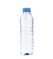 water bottle isolated in a white background