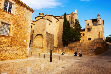 View of Girona - Plaza de Sant Domenec