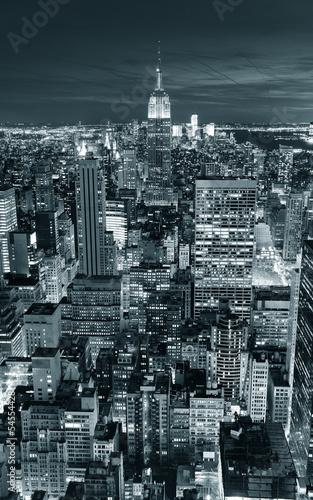 Fototapete Empire State Building closeup