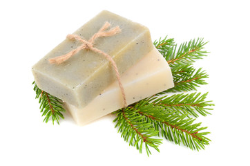 Wall Mural - Pine soap