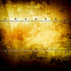 golden plate