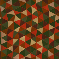 Seamless texture with triangles, mosaic endless pattern. Seamles