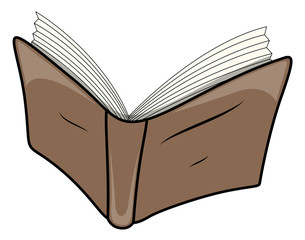 Cartoon Book - Vector Illustrations