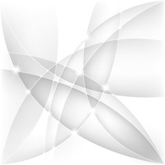 Abstract silver background, vector illustration