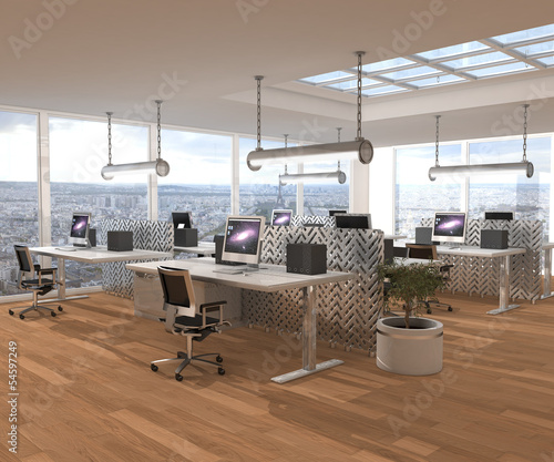 Bureaux Open Space Stock Photo And Royalty Free Images On Fotolia