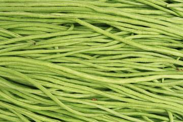 Long green beans background