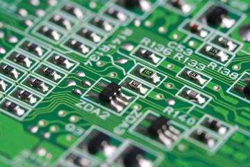 Electronic PCB background
