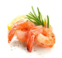 Shrimp's tails