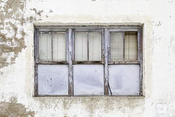 Old abandoned window