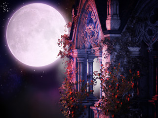 magical gothic night
