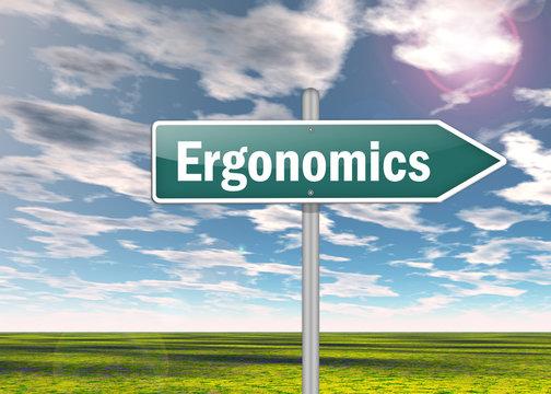 "Signpost ""Ergonomics"""