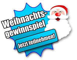 """Siegel """"Weihnachtsgewinnspiel - Jetzt teilnehmen!"""""""