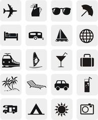 20 boutons tourisme