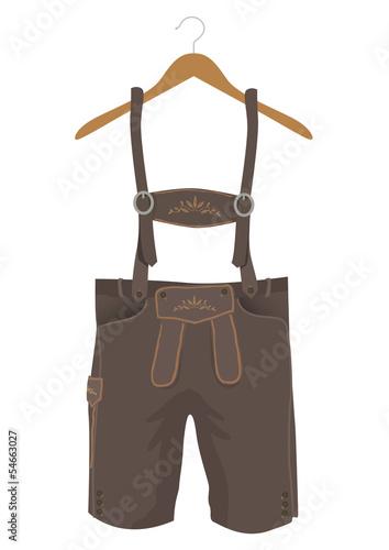 Kleiderbügel clipart  Dirndl und Lederhosen