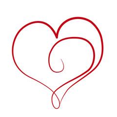 Herz Liebe Abstrakt