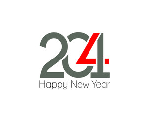 Happy new year 2014 text design.