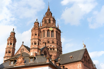 Mainz Cathedral in Germany