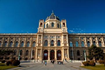 Fond de hotte en verre imprimé Vienne Museum of Fine Arts in Vienna