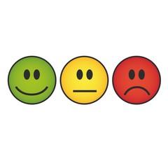 Different emoticons