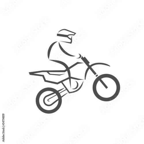 Wall mural moto cross logo 2013_07 - 2