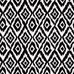 seamless pattern in aztec style