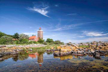 Türaufkleber Skandinavien Leuchtturm von Svaneke
