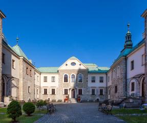 Foto auf Leinwand Schloss Sielecki Castle