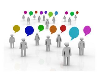 Communication And Speech Bubbles