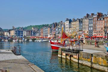 port of Honfleur in Normandie Fototapete