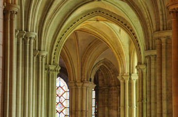Caen, the abbaye aux Hommes in France