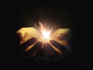 Holding lightning