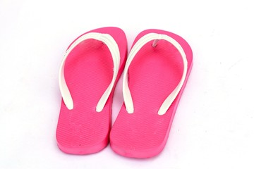 Beautiful beach slippers